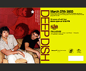Deep Dish at Palladium - created March 03, 2003