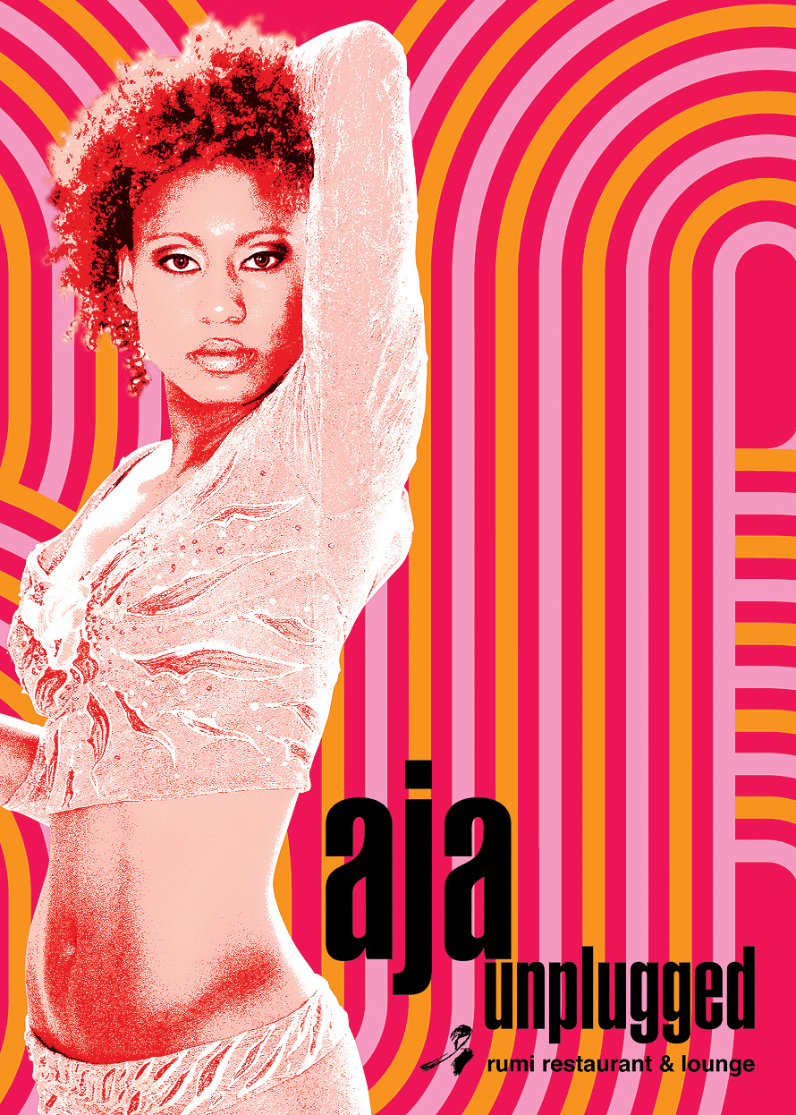 Aja Unplugged at Rumi Restaurant and Lounge