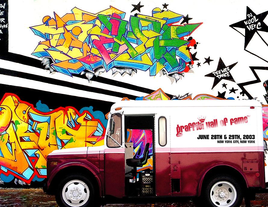 Graffiti Wall of Fame
