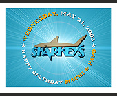 Sharkeys Birthday Party - tagged with come celebrate with two young sharkeys veterans