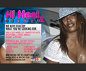 Hi Heelz Escort - 1275x825 graphic design