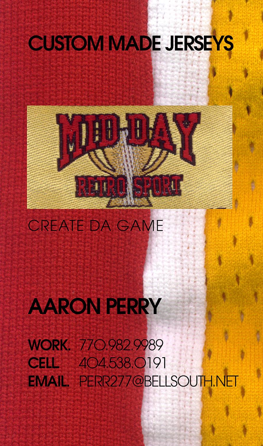 Mid Day Metro Retro Sport