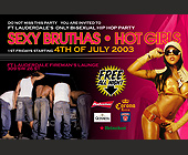 Ft. Lauderdale's Only Bi-Sexual Hip Hop Party - Reggae Graphic Designs
