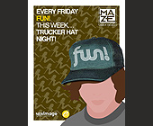 Every Friday Fun at Maze Nightclub - 4.25x5.5 graphic design