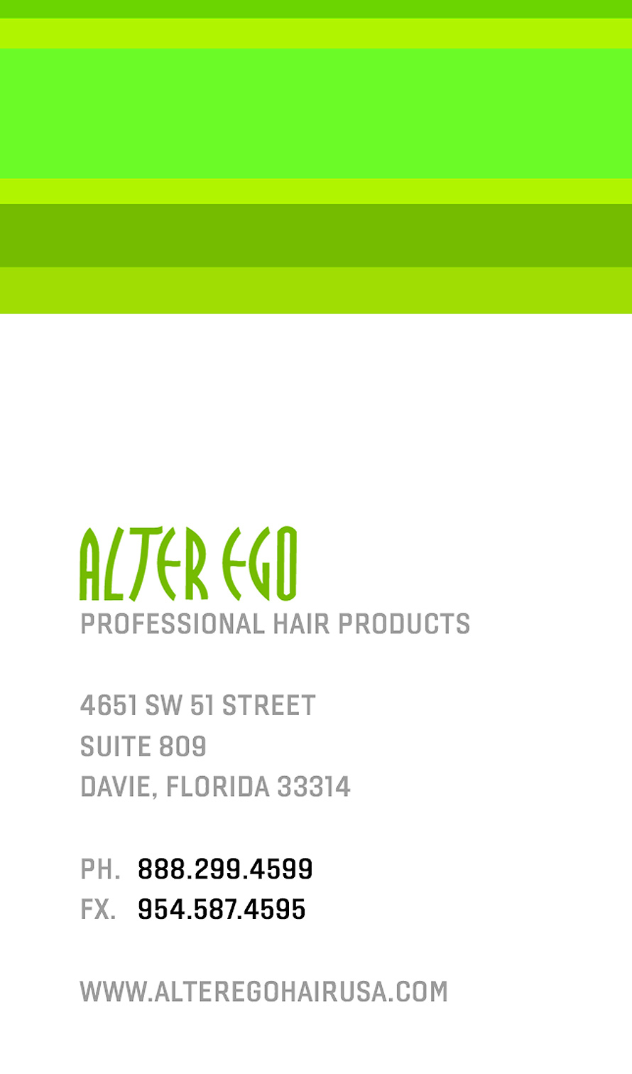 Alter Ego Professional Hair Products