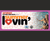 Saturdays Gil Alfaro and Javier Martin Present Summer Lovin' - 1050x2550 graphic design