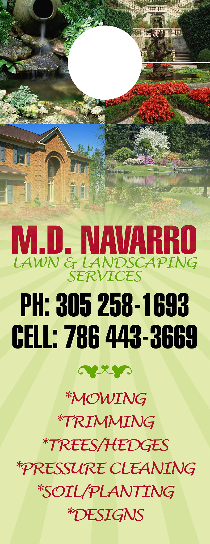 M.D. Navarro Lawn and Landscaping Services