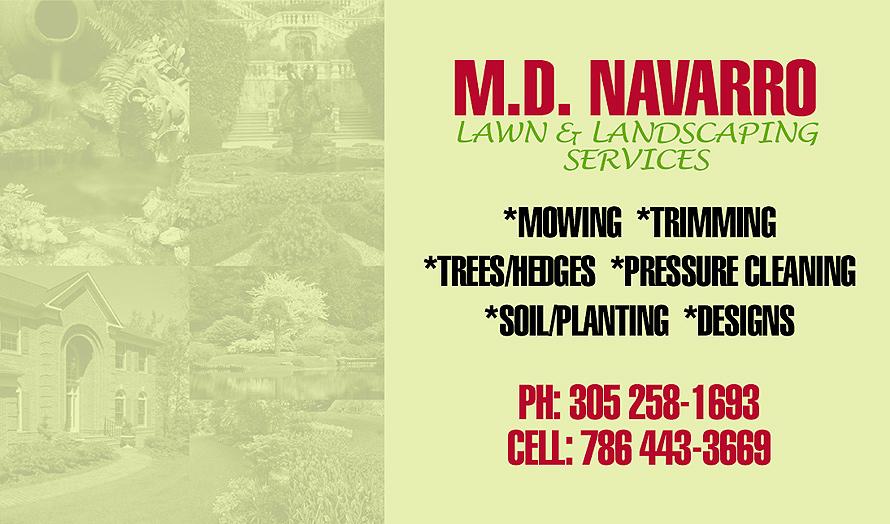 M.D. Navarro Lawn & Landscaping Services