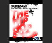 Saturdays The Hip-hop Shop - 1275x1650 graphic design