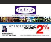We'll Sell Your Home for Only 2% - tagged with realty