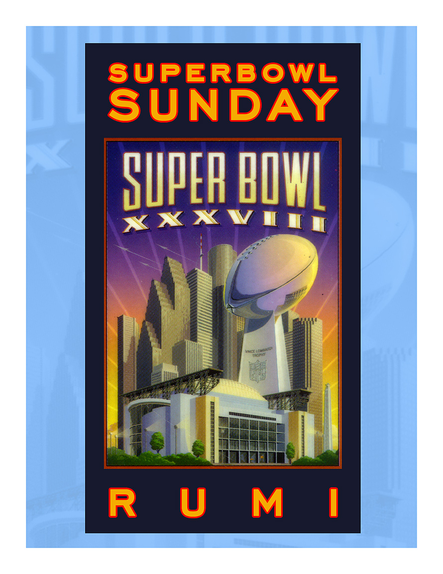 Superumibowl Rumi Superbowl Sunday