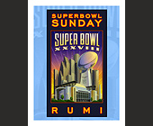 Superumibowl Rumi Superbowl Sunday  - 4.25x5.5 graphic design