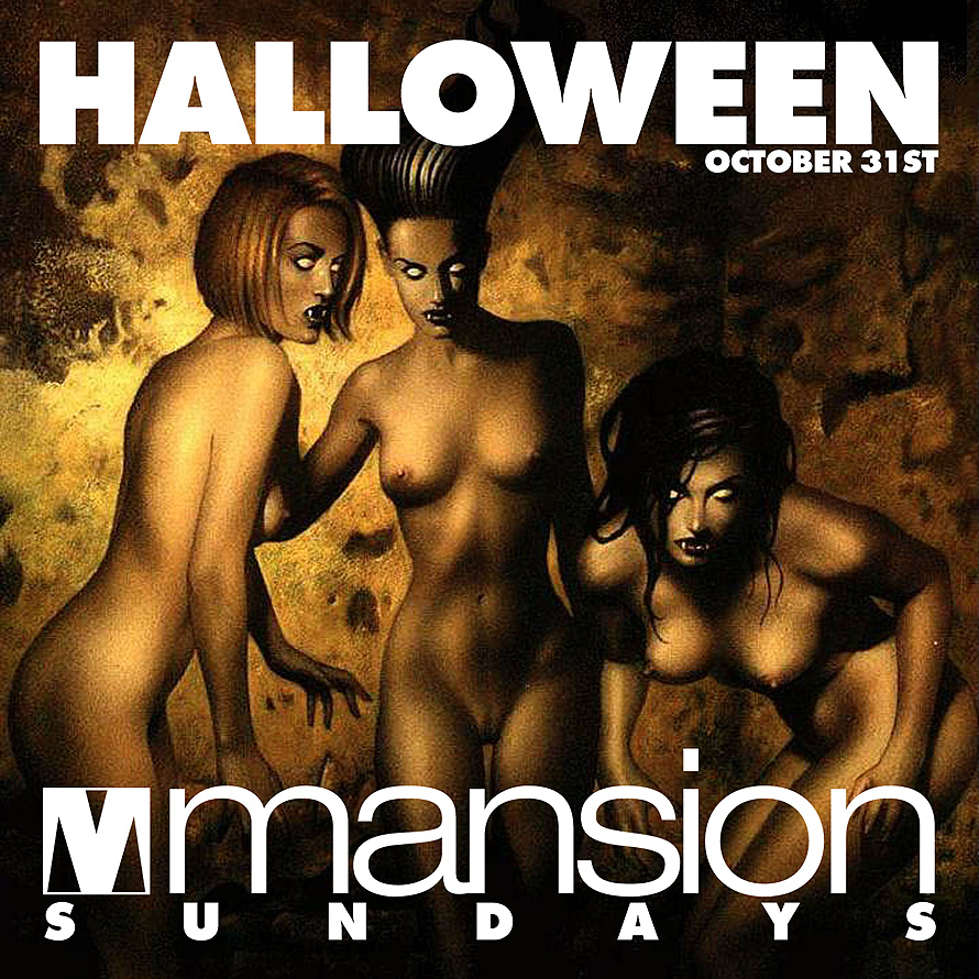 Halloween Night at Club Mansion
