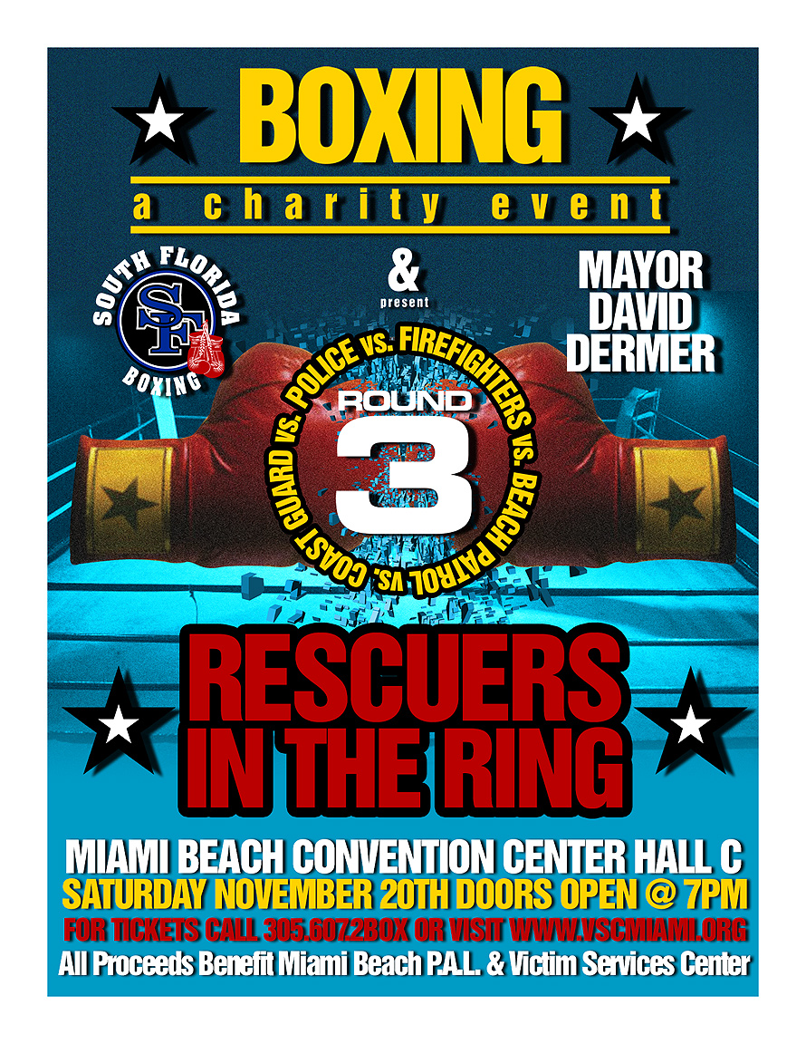 Rescuers in the Ring