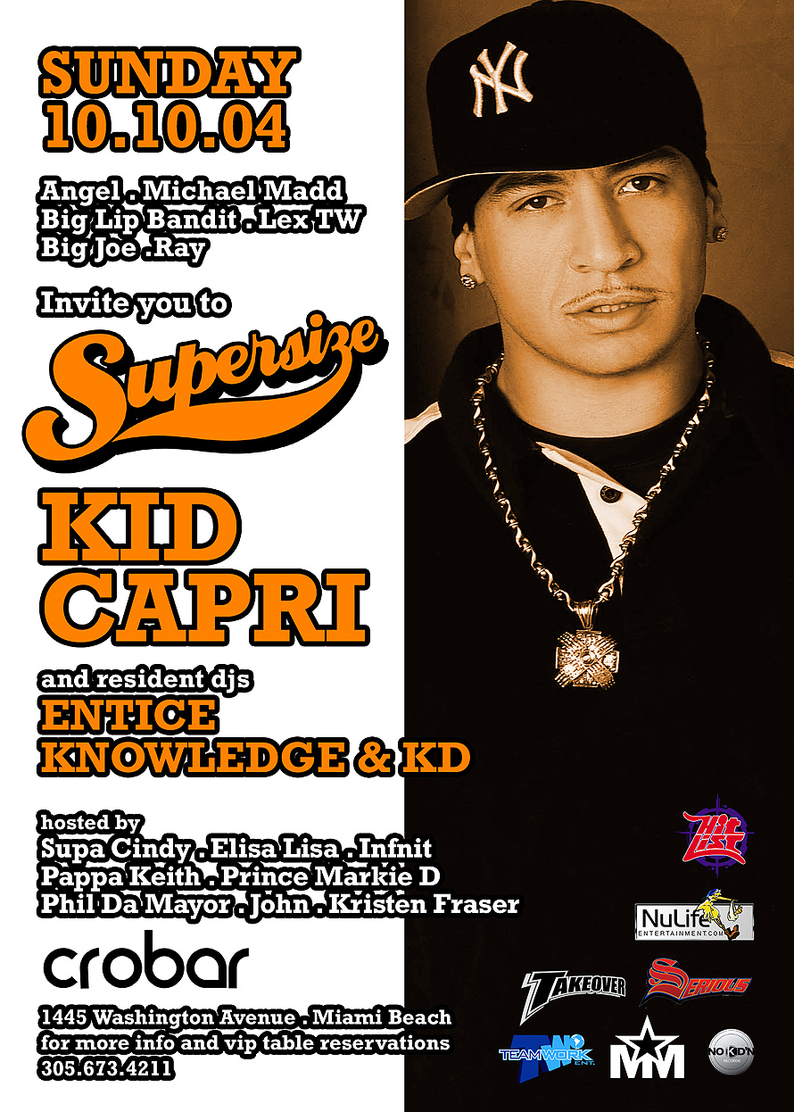 Kid Capri at Crobar