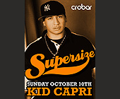 Kid Capri at Crobar - tagged with sunday october 10th
