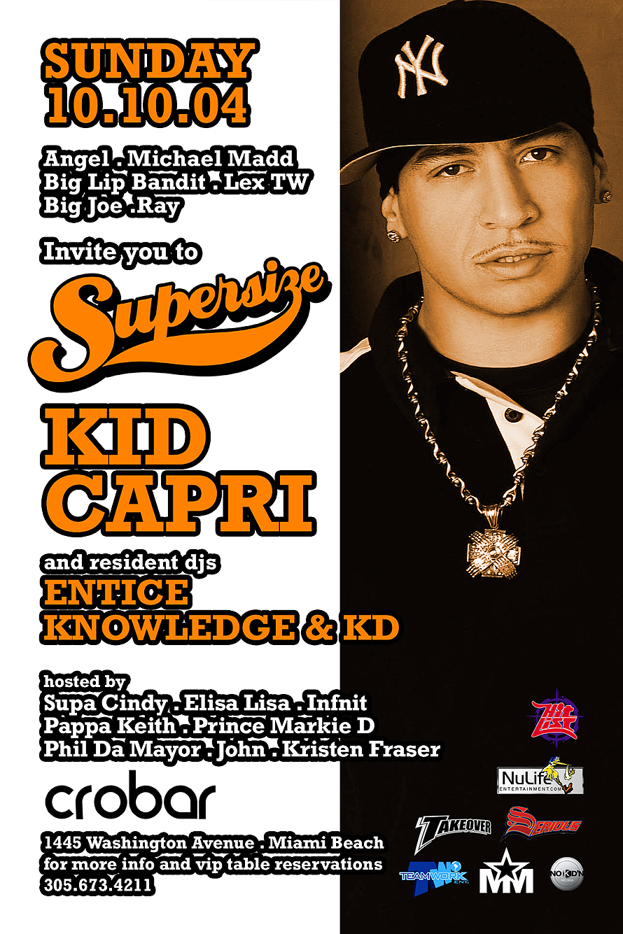 Supersize Sundays with Kid Capri