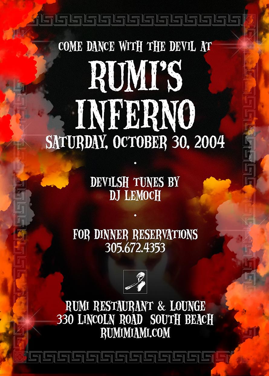 Rumi's Inferno