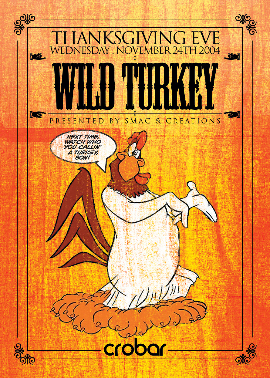 Wild Turkey Thanksgiving Eve at Vice