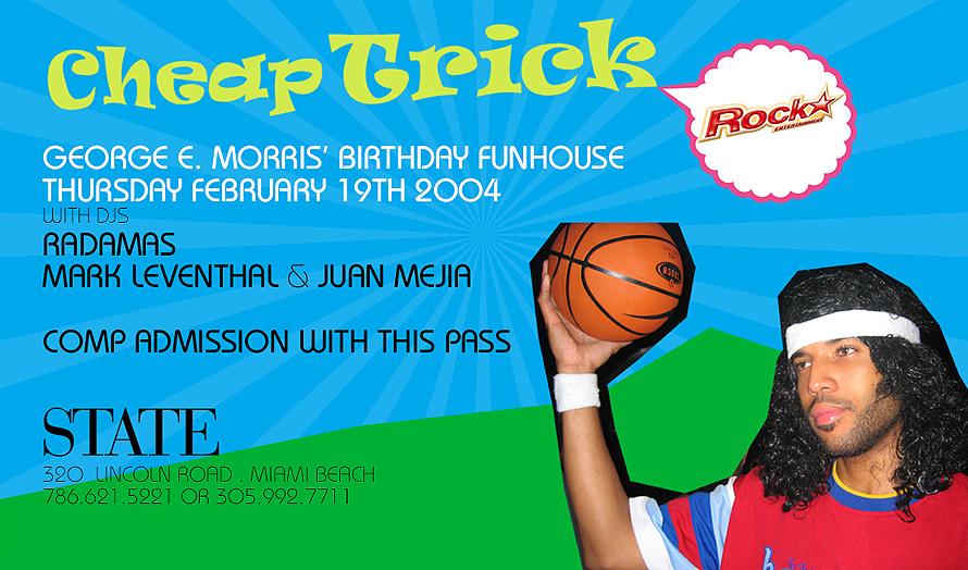 Cheap Trick Birthday Funhouse