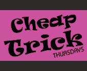 Cheap Trick Event at State Nightclub - Event Flyer