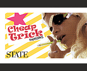 Cheap Trick Thursdays - 2.75x4.25 graphic design