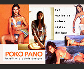 Poko Pano Brazilian Biquinis - Fashion Graphic Designs