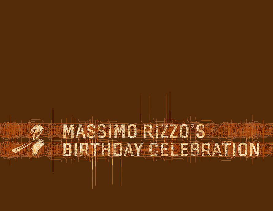 Massimo Rizzo's Birthday Celebration at Rumi