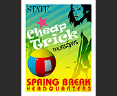 Cheap Trick Thursdays at State - tagged with spring break