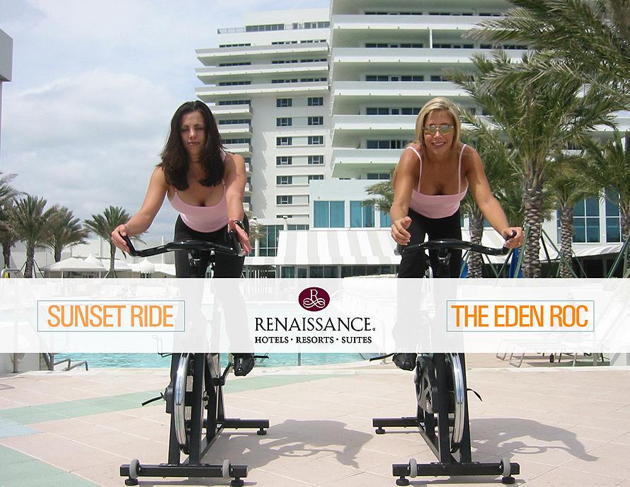 The Eden Roc Sunset Ride