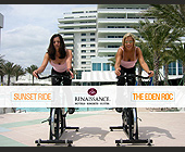 The Eden Roc Sunset Ride - tagged with space is limited