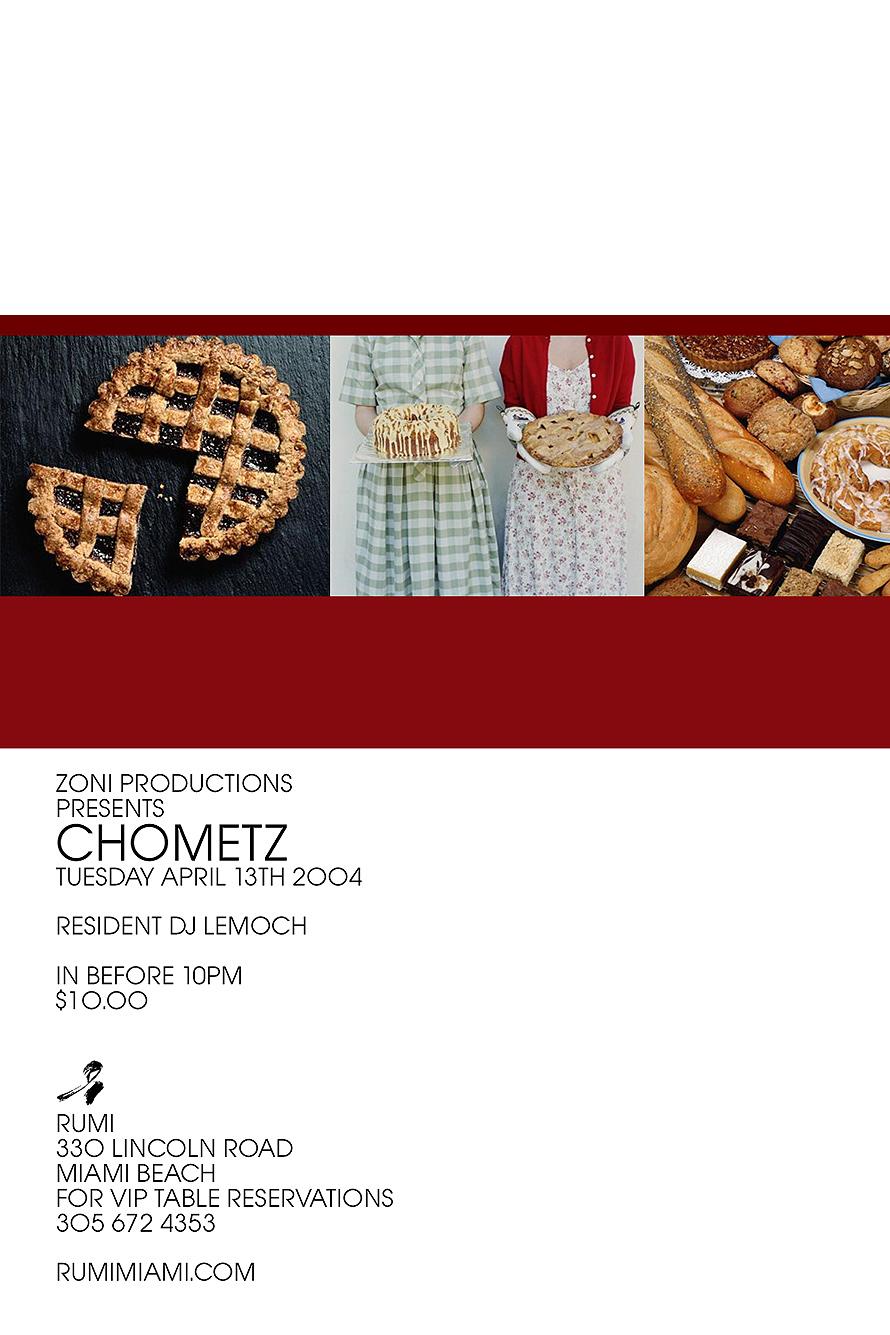 Chometz Rumi Restaurant and Lounge