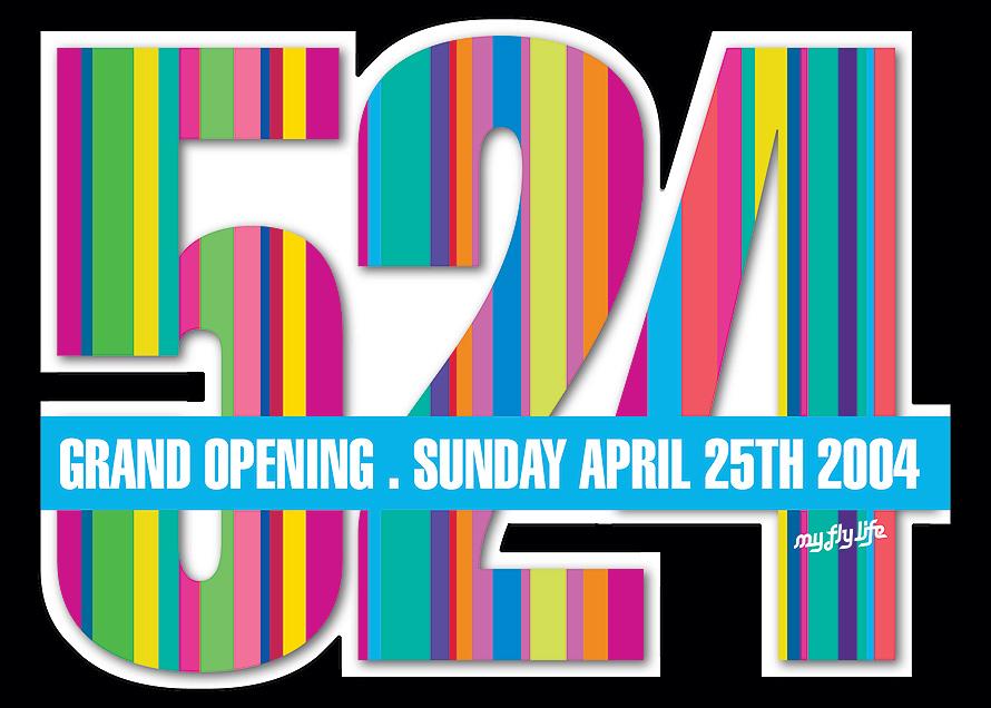 524 Grand Opening