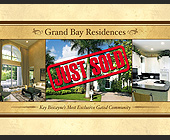 Grand Bay Residences Key Biscayne - 11x8.5 graphic design