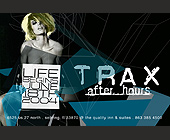 Trax After Hours - Travel and Lodging Graphic Designs