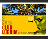 Club Locura - Latin Graphic Designs