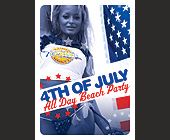 4th of July All Day Beach Party - tagged with dj irie