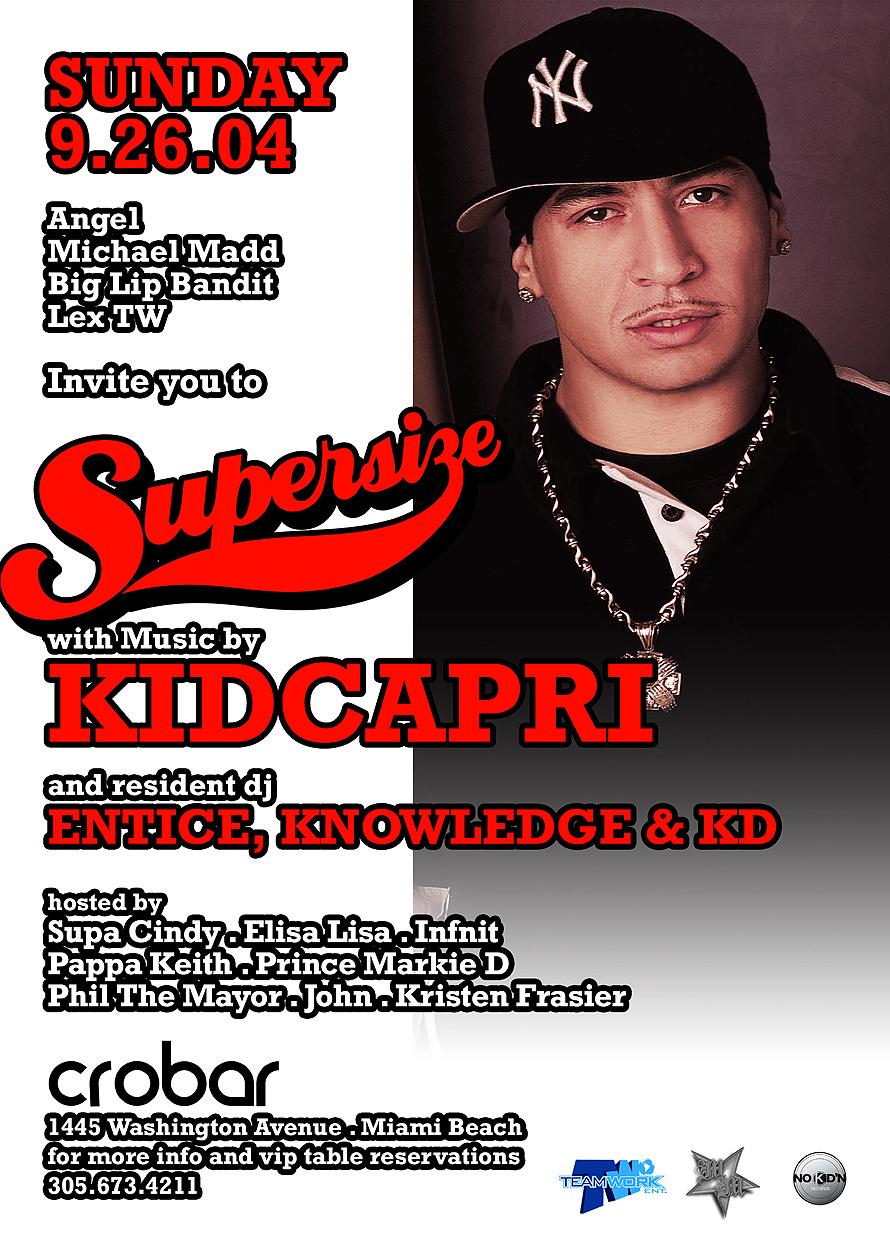 Sundays with Kid Capri