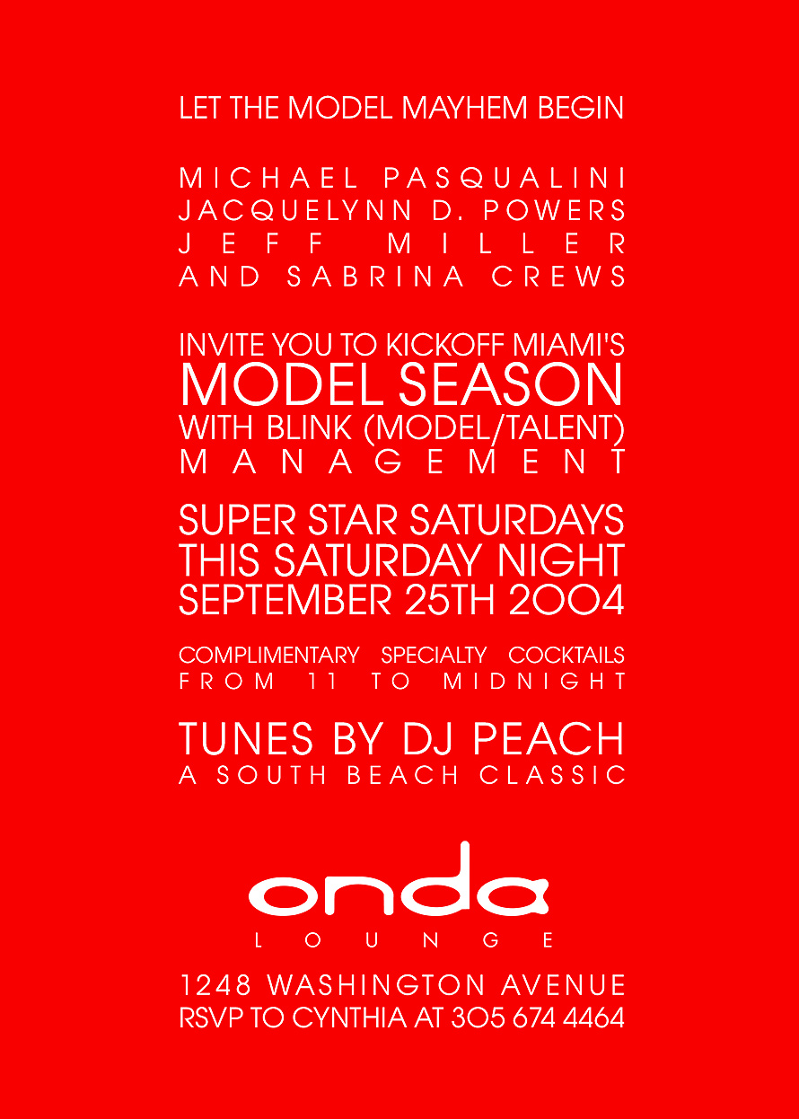 Onda Lounge Blink