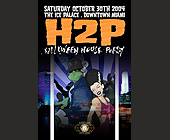Halloween House Party - The Ice Palace Graphic Designs