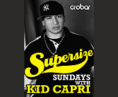 Supersize Sundays - tagged with for more info and vip table reservations