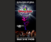 Universoul Circus - 825x1650 graphic design