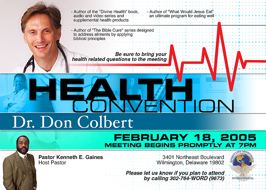 Health Convention Dr. Don Colbert