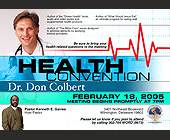Health Convention Dr. Don Colbert - tagged with book