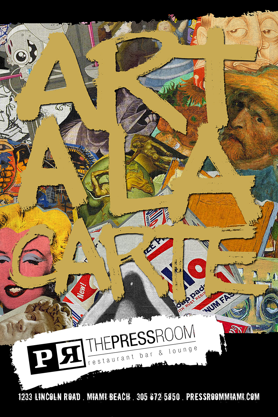 The Press Room Art a La Carte