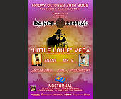 Dance Ritual at Nocturnal - Latin Graphic Designs
