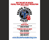South Florida Boxing Gym - tagged with 50 dollar bill