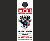 You Don't Have To Be A Boxer - Door Hangers Graphic Designs