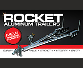 Rocket Aluminum Trailers  - tagged with lens flare