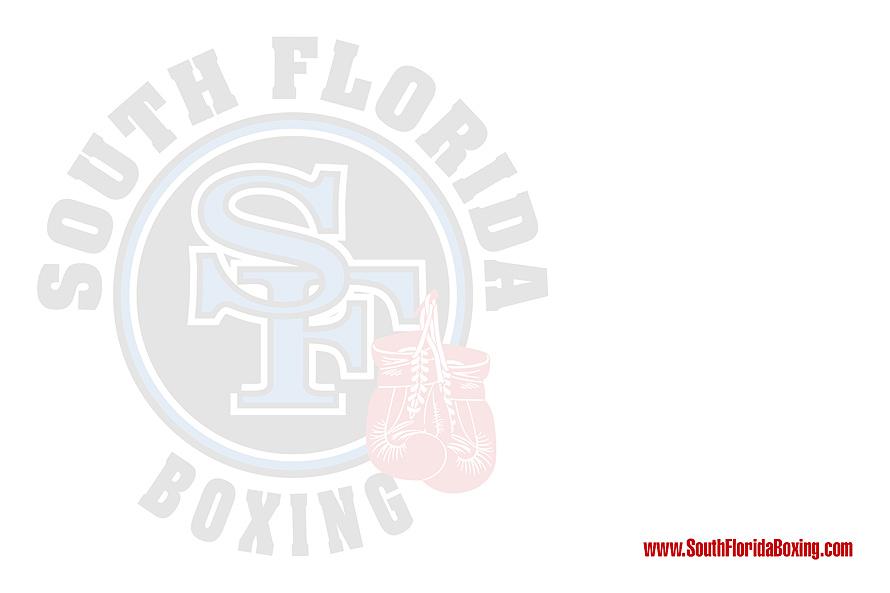 South Florida Boxing Thank You!